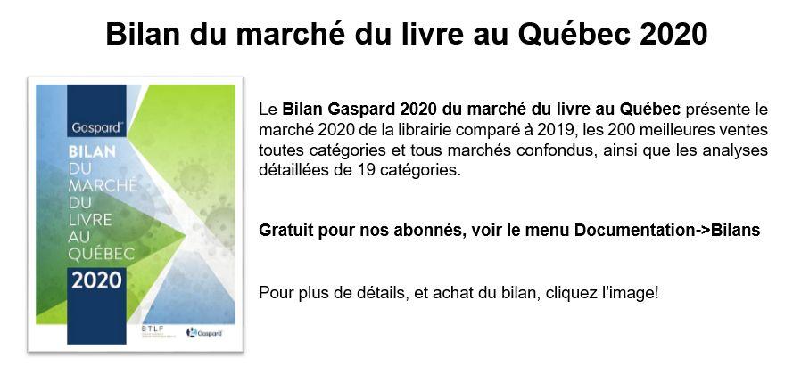 Achat du Bilan Gaspard  2019